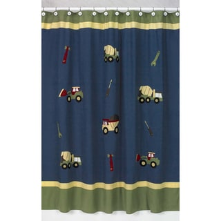 Construction Zone Shower Curtain
