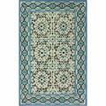 nuLOOM Handmade Ikat Multi Wool Rug (7'6 x 9'6)