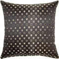 Bonkers Black 17-inch Throw Pillows (Set of 2)