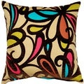 Fanfare Mink 17-inch Throw Pillows (Set of 2)