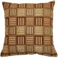 Crosshatch Jade 17-inch Throw Pillows (Set of 2)