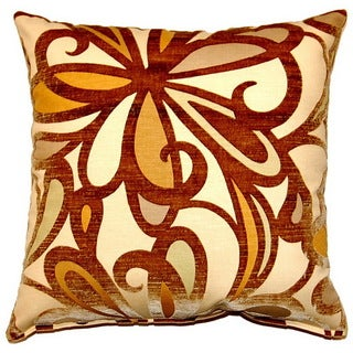 Fanfare Buff 17-inch Throw Pillows (Set of 2)