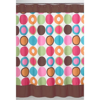 Sweet Jojo Designs Deco Dot Modern Shower Curtain