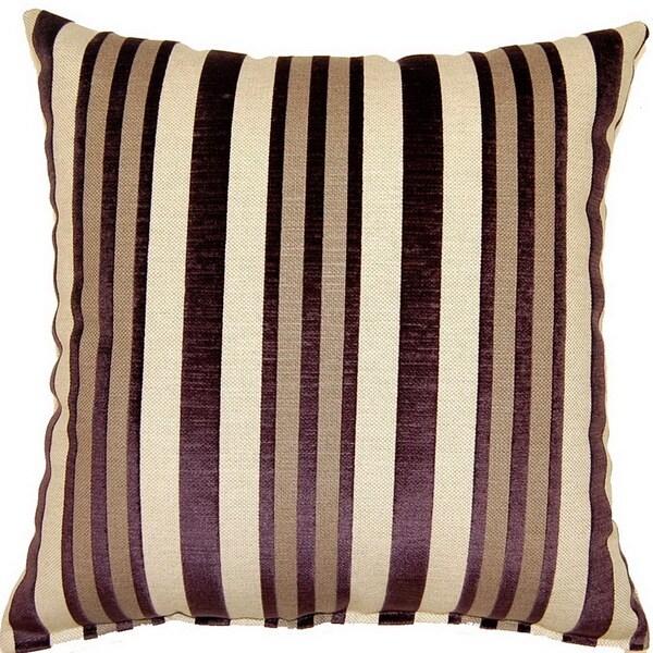 Hillside Plum 17-inch Throw Pillows (Set of 2)