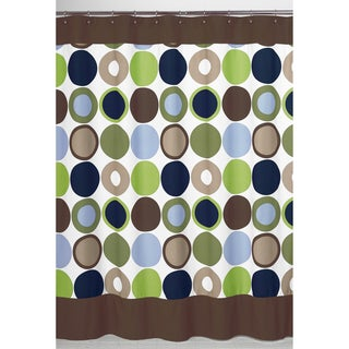 Sweet Jojo Designs Designer Dot Modern Shower Curtain