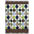 Designer Dot Modern Shower Curtain