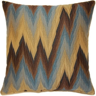 Massimo Chocolate 17-inch Throw Pillows (Set of 2)