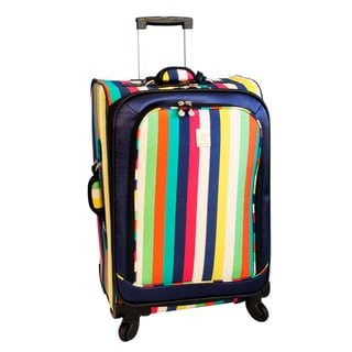 Jenni Chan Multi Stripes 25-inch 360 Quattro Spinner Upright