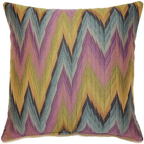 Massimo Purple 17-inch Throw Pillows (Set of 2)