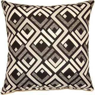 Sienna Black 17-inch Throw Pillows (Set of 2)