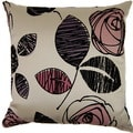 Tory Plum 19-inch Throw Pillows (Set of 2)