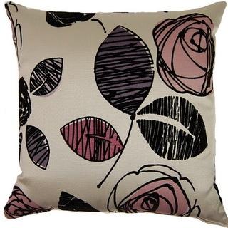 Tory Plum 19-inch Throw Pillows (Set of 2)