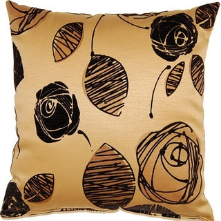 Tory Gold 19-inch Throw Pillows (Set of 2)