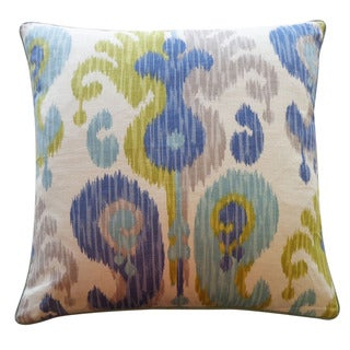 Jiti Pillows 24-inch 'Aqua' Decorative Pillow