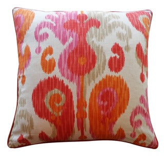 Jiti Pillows 24-Inch 'Pink' Decorative Pillow