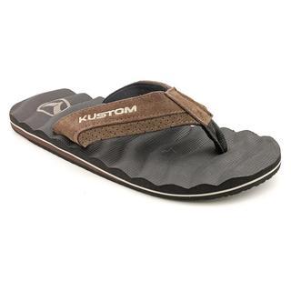Kustom Men's 'Hummer Rebound Suede' Regular Suede Sandals