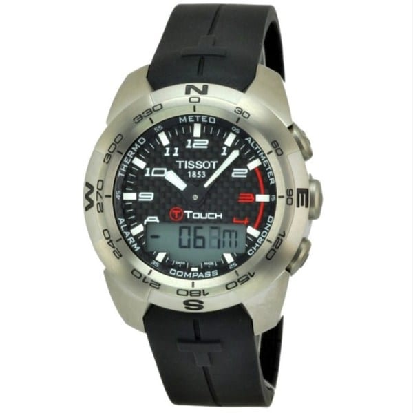 Tissot Men's T0134204720200 Stainless Steel T-Touch Expert Watch