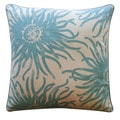 Jiti Pillows 20-Inch 'Anenoma' Cotton Decorative Pillow