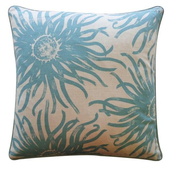 Jiti 20-Inch 'Anenoma' Cotton Decorative Pillow