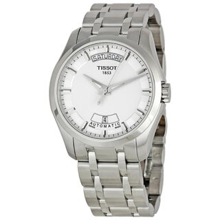 Tissot Men's Stainless Steel Couturier Calendar Watch