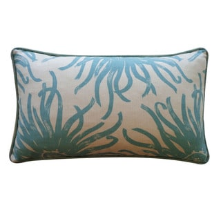 Jiti Pillows 12 x 20-inch 'Anenoma' Decorative Down Pillow