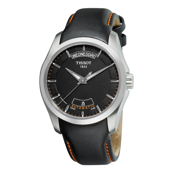 Tissot Men's Stainless Steel T-Trend Couturier Watch