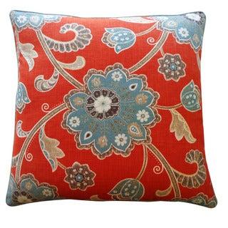 Jiti 24-inch 'Amaryllis' Decorative Pillow