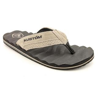Kustom Men's 'Hummer Rebound Suede' Regular Suede Sandals