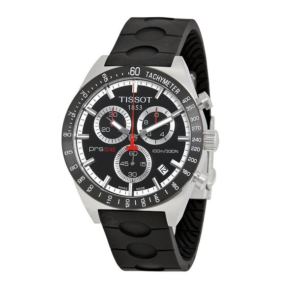 Tissot Men's PRS 516 Black Dial Watch