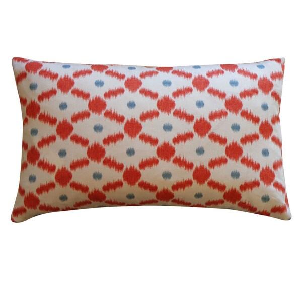Jiti 12-inch x 20-inch 'Fence' Decorative Pillow