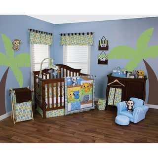 Trend Lab Riley Tiger and Friends 5-piece Crib Bedding Set