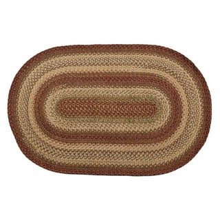 Coliseum Braided Indoor/ Outdoor Oval Rug (2'3 x 3'9)