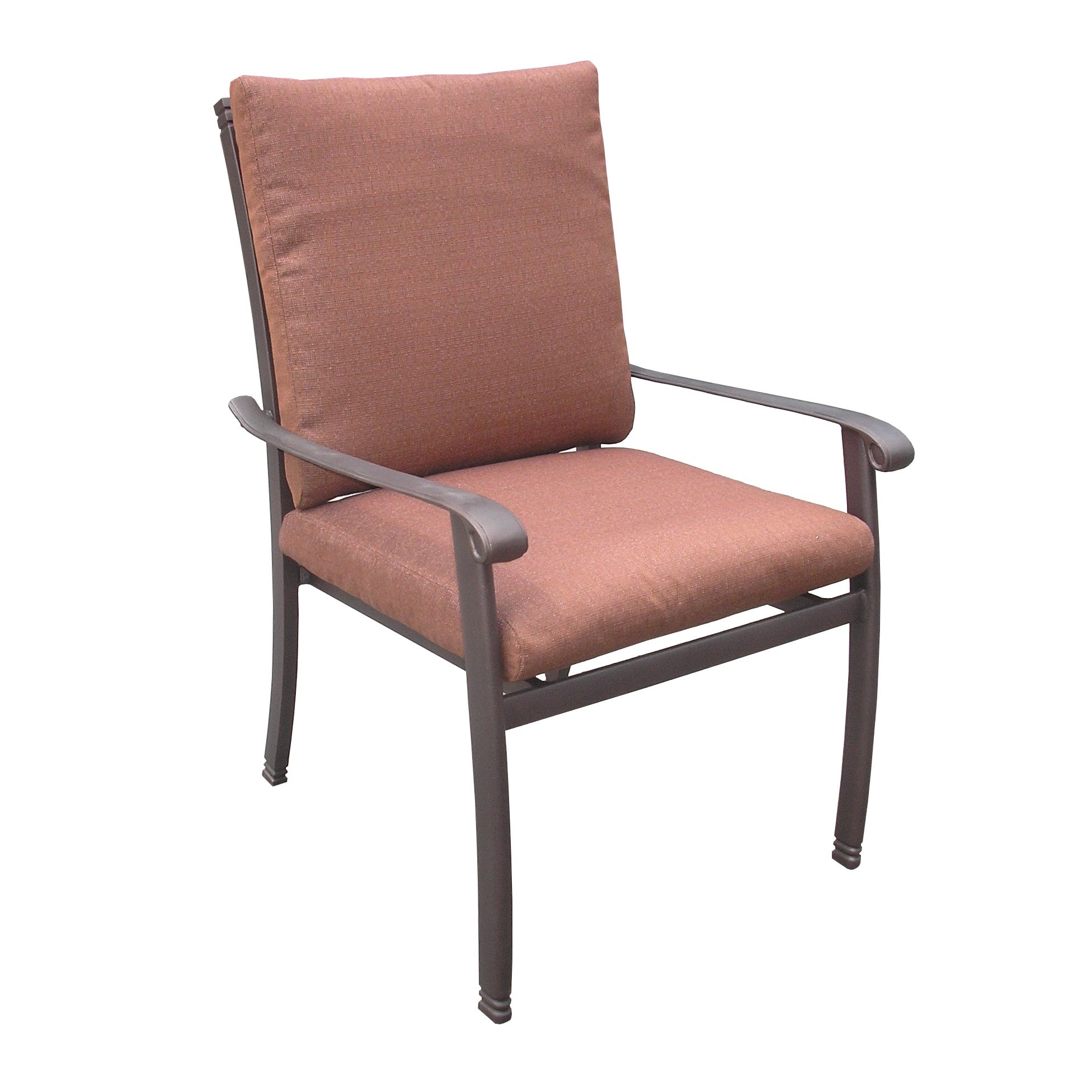 Overstock.com Bella Aluminum Dining Arm Chair at Sears.com