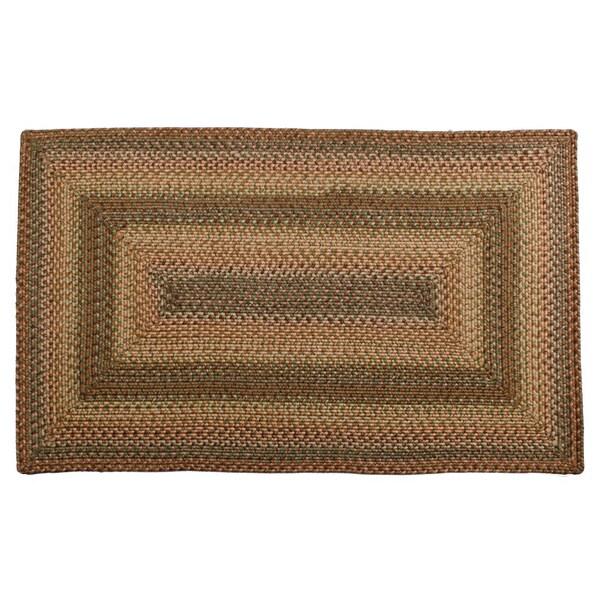 Spanish Moss Braided Indoor/ Outdoor Rug (2'3 x 3'9)