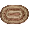 Italy Braided Indoor/ Outdoor Oval Rug (2'3 x 3'9)