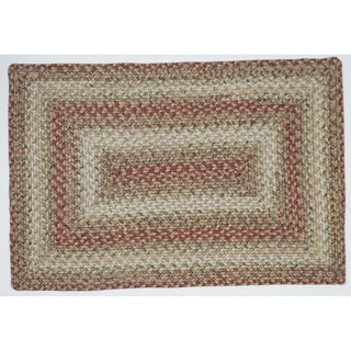 Italy Braided Indoor/ Outdoor Rug (2'3 x 3'9)