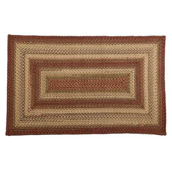 Coliseum Braided Indoor/ Outdoor Rug (2'3 x 3'9)