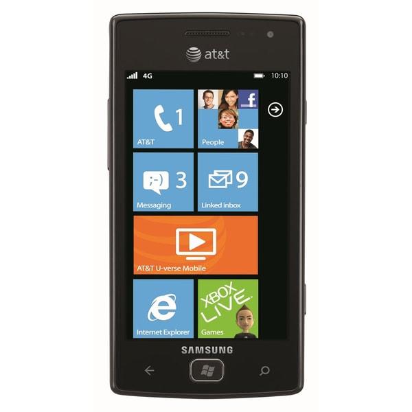 Samsung Focus Flash Smartphone - Wi-Fi - 3.5G - Bar - Black