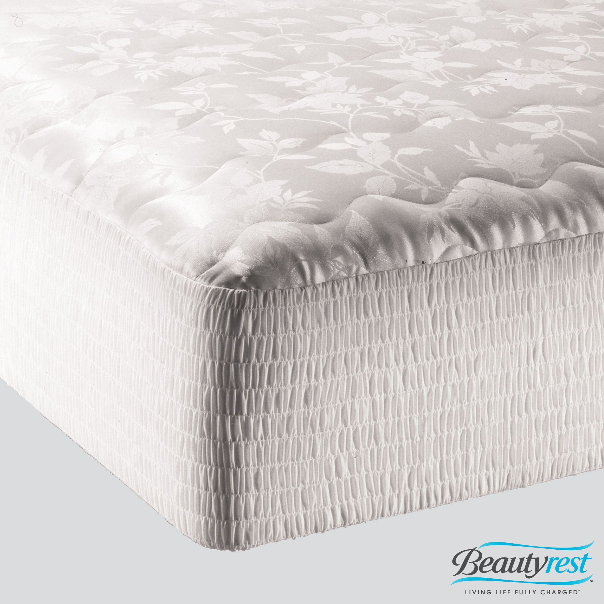 Beautyrest Jacquard Overfilled Mattress Pad at Sears.com