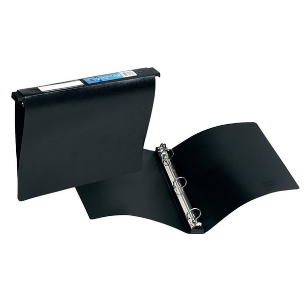Avery Hanging File Black 3-ring 1-inch Binder (Pack of 12)
