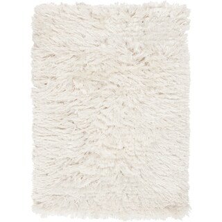 Candice Olson Hand-woven Ternia Winter White Rug (5' x 8')