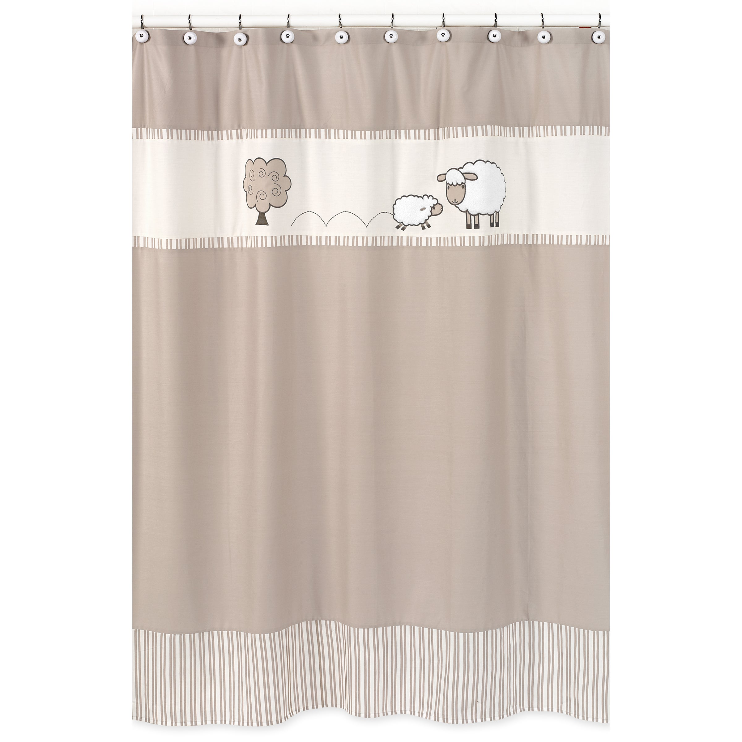 Sweet Jojo Designs Little Lamb Kids Shower Curtain at Sears.com