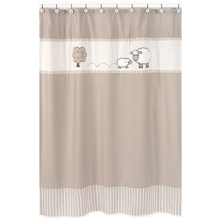 Sweet Jojo Designs Little Lamb Kids Shower Curtain