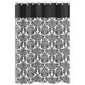 Sweet Jojo Designs Black and White Isabella Shower Curtain