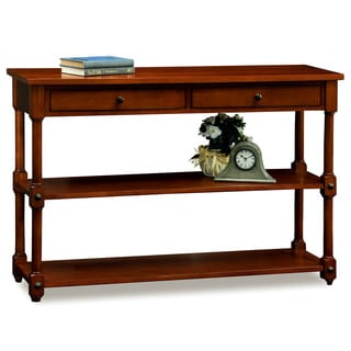 Tiered Shelf Sofa Table