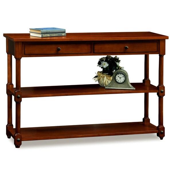 Tiered Shelf Sofa Table