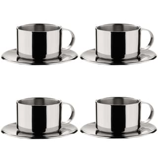 MIU France Stainless Steel Espresso Cup (Set of 4)