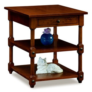 Tiered Shelf End Table