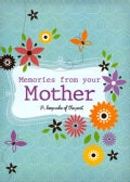 Memories from Your Mother (Notebook / blank book)
