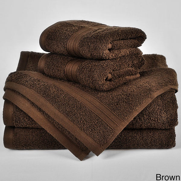 Regenerated Cotton 6-piece Towel Set